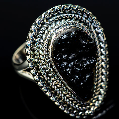 Tektite Rings handcrafted by Ana Silver Co - RING14024