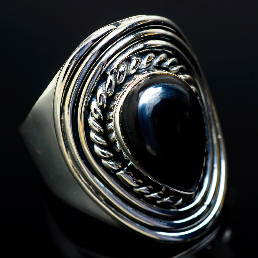 Psilomelane Rings handcrafted by Ana Silver Co - RING14537