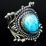 Larimar Rings handcrafted by Ana Silver Co - RING14787