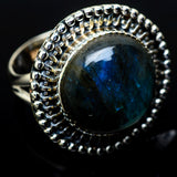 Labradorite Rings handcrafted by Ana Silver Co - RING14895