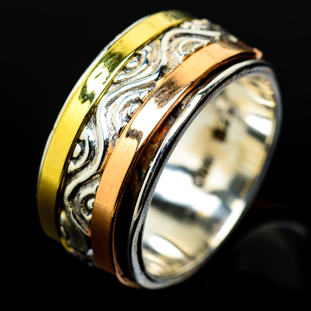 Meditation Spinner Rings handcrafted by Ana Silver Co - RING16923