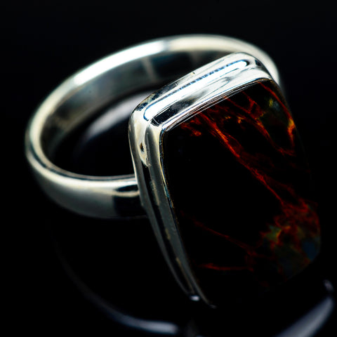 Pietersite Rings handcrafted by Ana Silver Co - RING17035