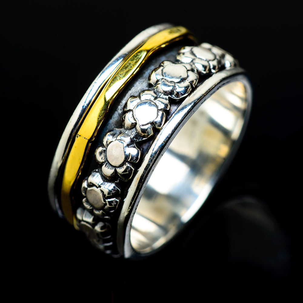 Meditation Spinner Rings handcrafted by Ana Silver Co - RING17103