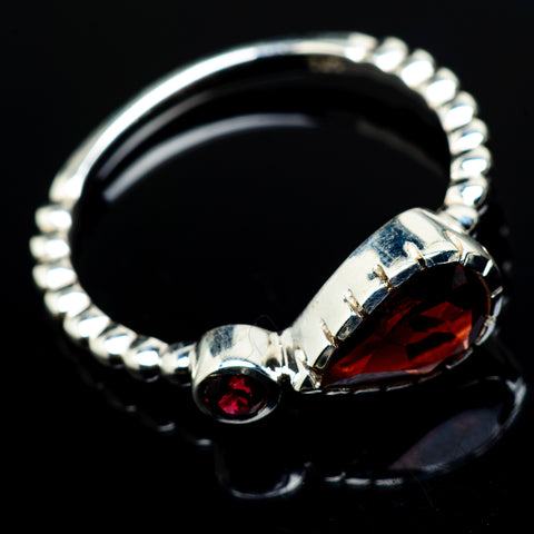 Garnet Rings handcrafted by Ana Silver Co - RING17346