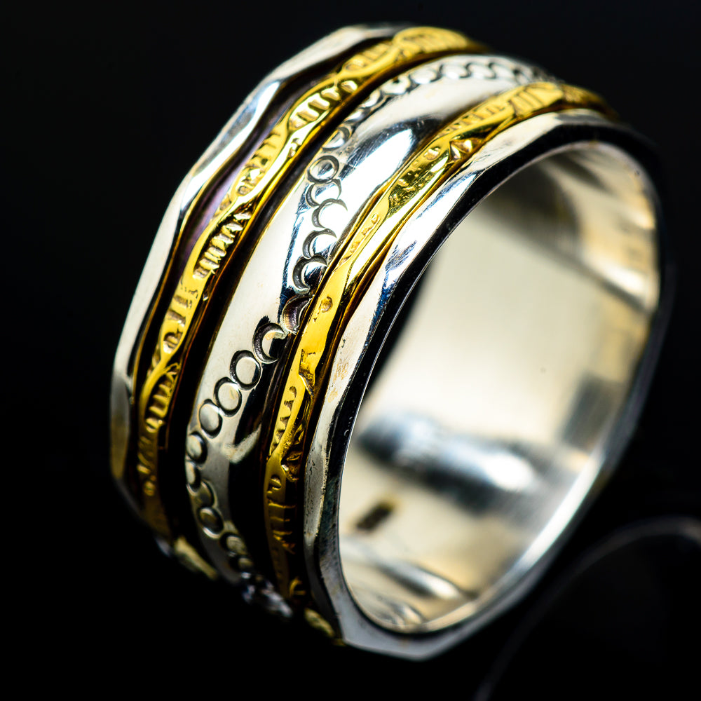 Meditation Spinner Rings handcrafted by Ana Silver Co - RING17492