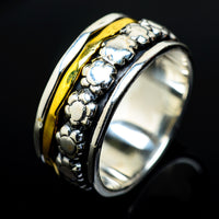 Meditation Spinner Rings handcrafted by Ana Silver Co - RING17850