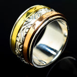 Meditation Spinner Rings handcrafted by Ana Silver Co - RING18178