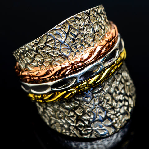 Meditation Spinner Rings handcrafted by Ana Silver Co - RING18865