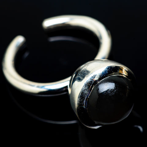 Black Onyx Rings handcrafted by Ana Silver Co - RING19137
