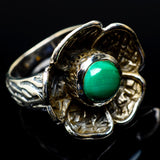 Malachite Rings handcrafted by Ana Silver Co - RING19228