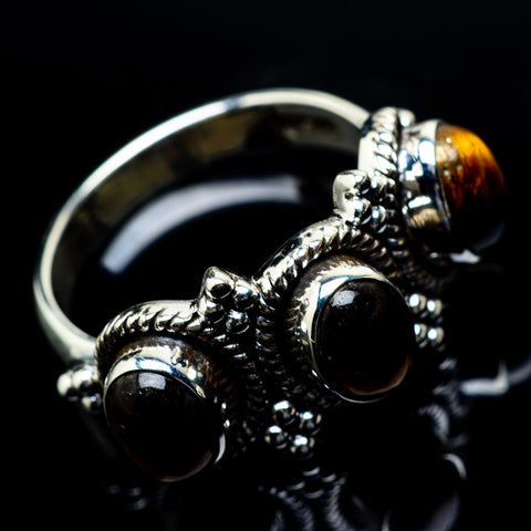 Tiger Eye Rings handcrafted by Ana Silver Co - RING19592