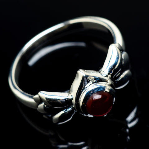 Red Onyx Rings handcrafted by Ana Silver Co - RING19719