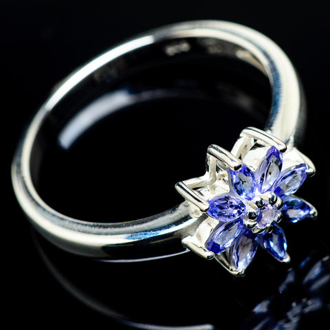 Tanzanite Rings handcrafted by Ana Silver Co - RING19724