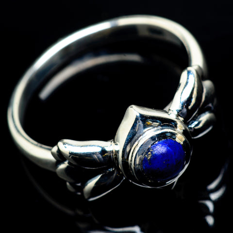 Lapis Lazuli Rings handcrafted by Ana Silver Co - RING19735