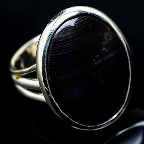 Psilomelane Rings handcrafted by Ana Silver Co - RING19752