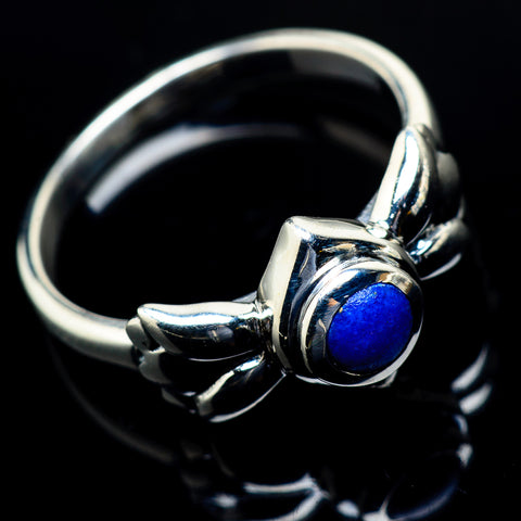 Lapis Lazuli Rings handcrafted by Ana Silver Co - RING19777