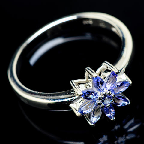 Tanzanite Rings handcrafted by Ana Silver Co - RING19790
