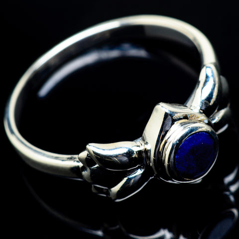 Lapis Lazuli Rings handcrafted by Ana Silver Co - RING19802