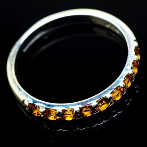 Citrine Rings handcrafted by Ana Silver Co - RING19808