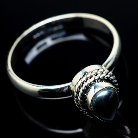 Psilomelane Rings handcrafted by Ana Silver Co - RING19883