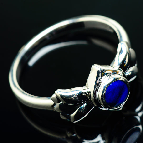 Lapis Lazuli Rings handcrafted by Ana Silver Co - RING20074