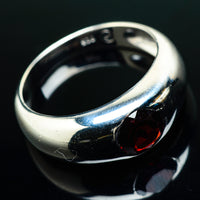 Garnet Rings handcrafted by Ana Silver Co - RING20087