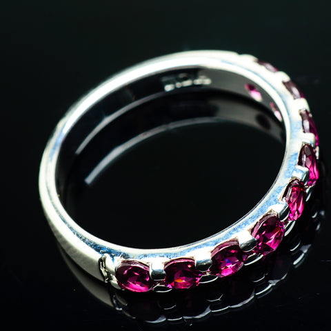 Pink Tourmaline Rings handcrafted by Ana Silver Co - RING20131