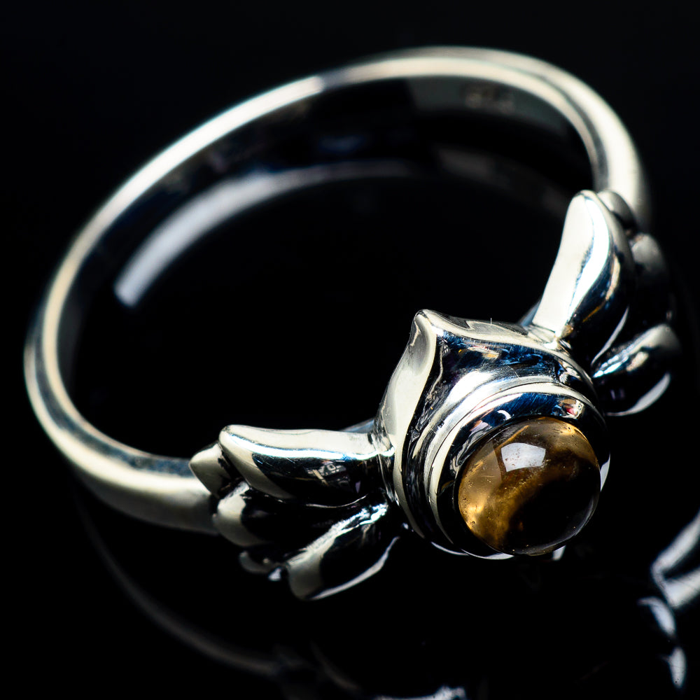 Citrine Rings handcrafted by Ana Silver Co - RING20149