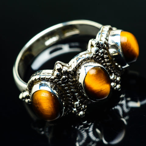 Tiger Eye Rings handcrafted by Ana Silver Co - RING20170
