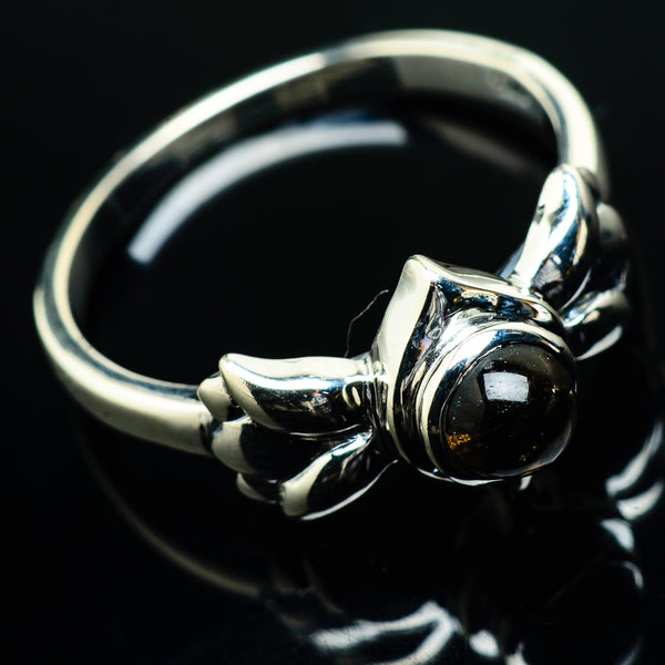Smoky Quartz Rings handcrafted by Ana Silver Co - RING20191