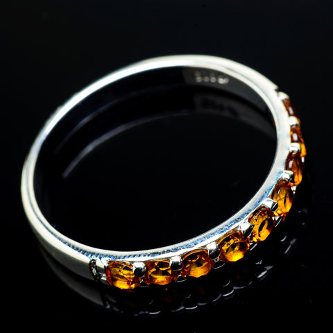 Citrine Rings handcrafted by Ana Silver Co - RING20212