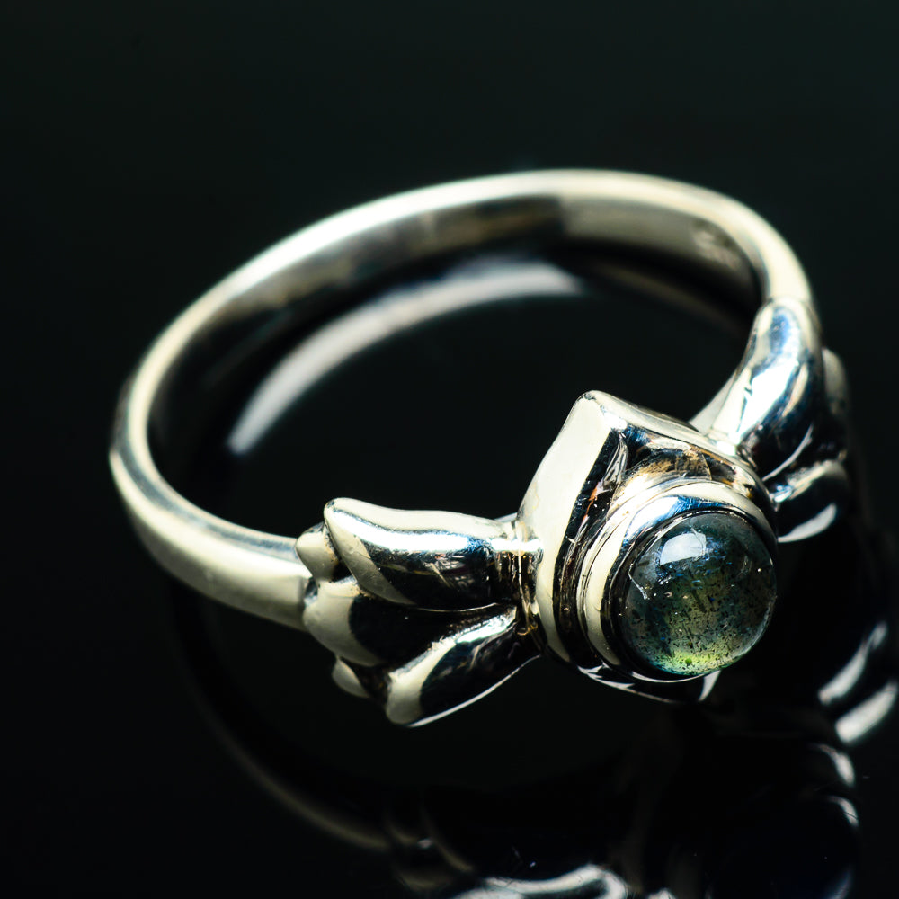 Labradorite Rings handcrafted by Ana Silver Co - RING20228