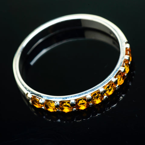Citrine Rings handcrafted by Ana Silver Co - RING20251