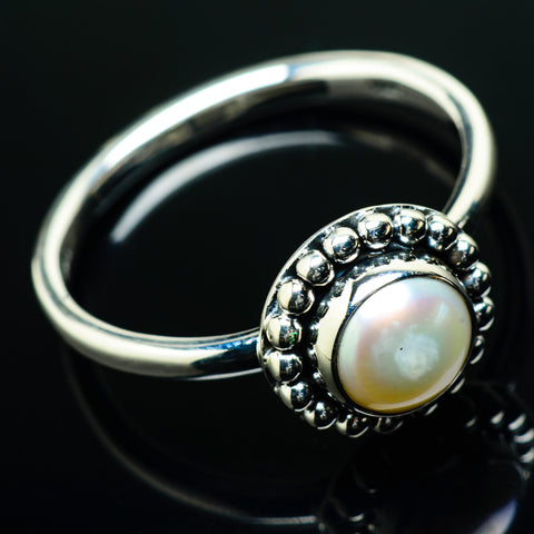 Cultured Pearl Rings handcrafted by Ana Silver Co - RING20259