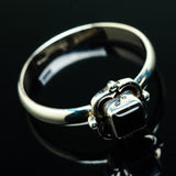 Black Onyx Rings handcrafted by Ana Silver Co - RING20276