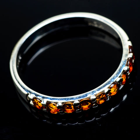 Citrine Rings handcrafted by Ana Silver Co - RING20448