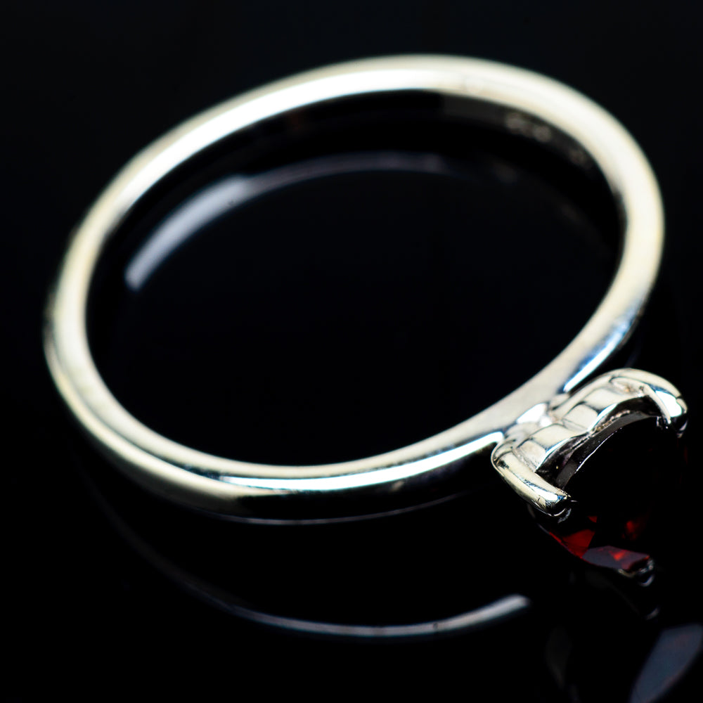 Garnet Rings handcrafted by Ana Silver Co - RING20474