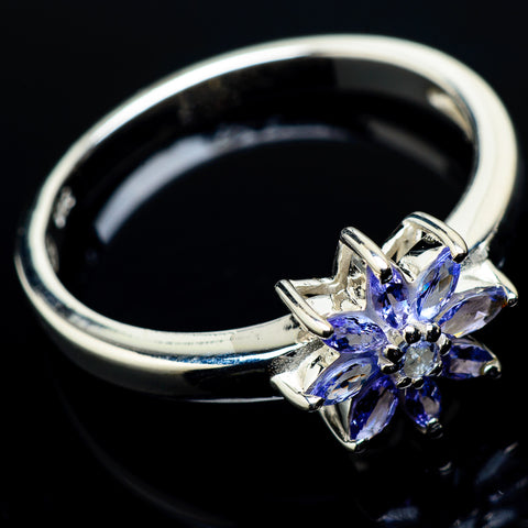 Tanzanite Rings handcrafted by Ana Silver Co - RING20500