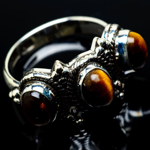 Tiger Eye Rings handcrafted by Ana Silver Co - RING20560