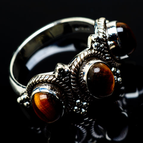 Tiger Eye Rings handcrafted by Ana Silver Co - RING20790