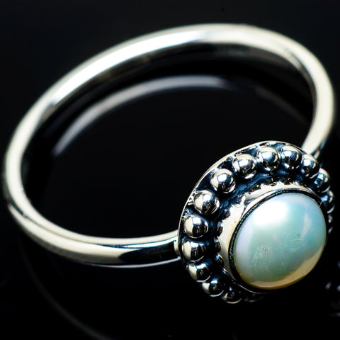 Cultured Pearl Rings handcrafted by Ana Silver Co - RING20802