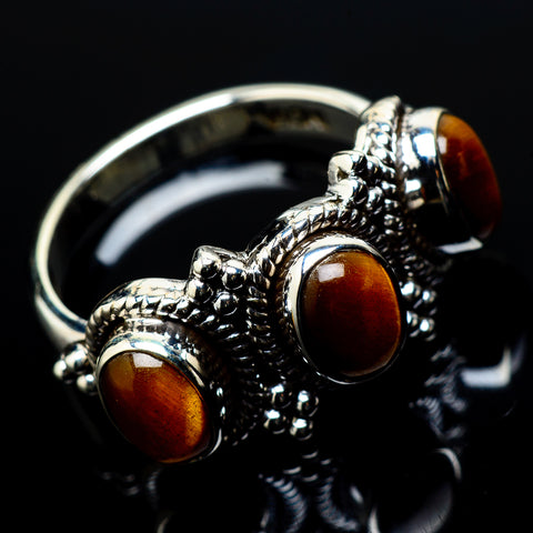Tiger Eye Rings handcrafted by Ana Silver Co - RING20838