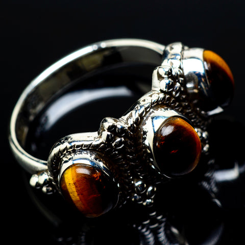 Tiger Eye Rings handcrafted by Ana Silver Co - RING20861