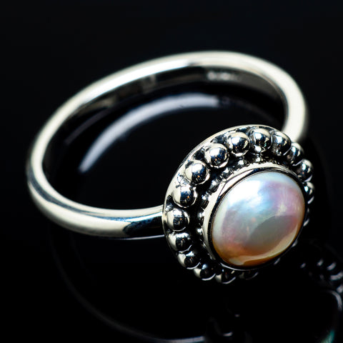 Cultured Pearl Rings handcrafted by Ana Silver Co - RING20895