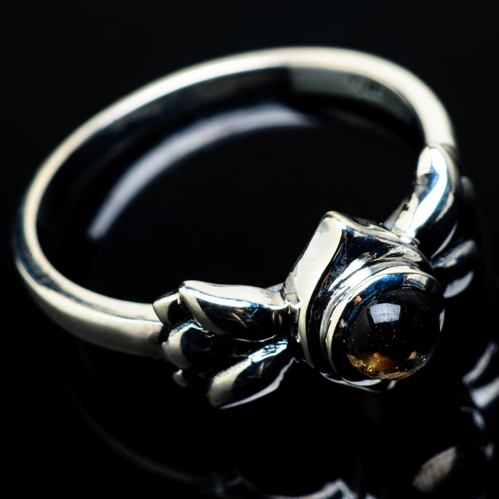 Smoky Quartz Rings handcrafted by Ana Silver Co - RING20905
