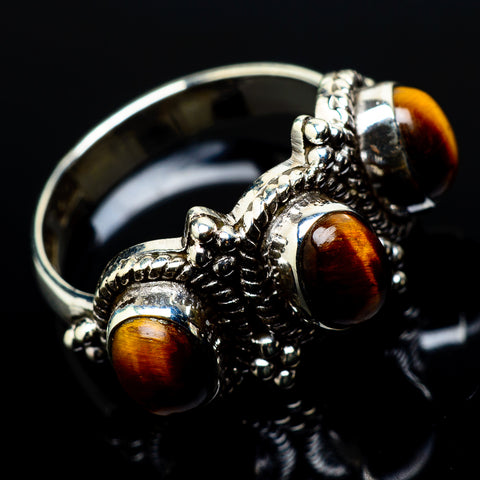Tiger Eye Rings handcrafted by Ana Silver Co - RING20906