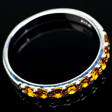 Citrine Rings handcrafted by Ana Silver Co - RING20907