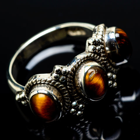 Tiger Eye Rings handcrafted by Ana Silver Co - RING20925