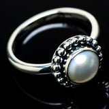 Cultured Pearl Rings handcrafted by Ana Silver Co - RING20934