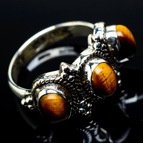 Tiger Eye Rings handcrafted by Ana Silver Co - RING20944